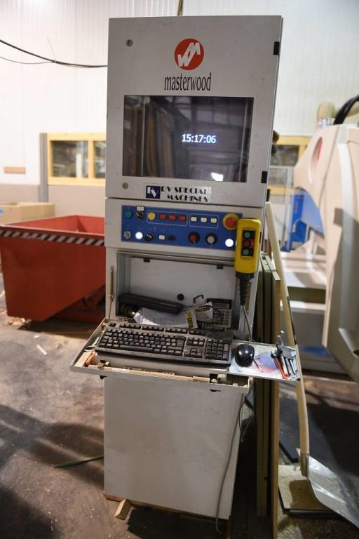 Centro di lavoro Masterwood modello PROJECT 500XL anno 2008/2009