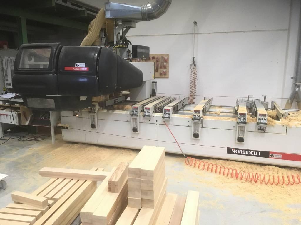 Centro di lavoro Morbidelli modello Author 600 KL