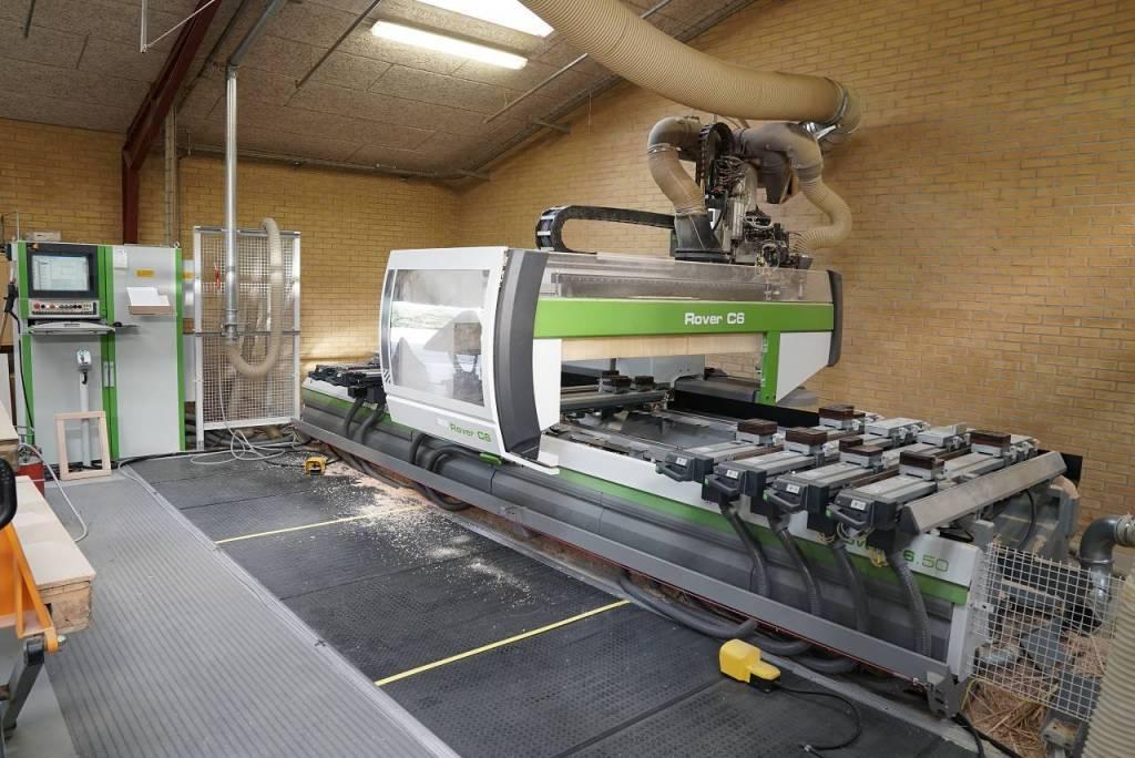 Centro di lavoro marca Biesse modello Rover C 6.50 anno 2005