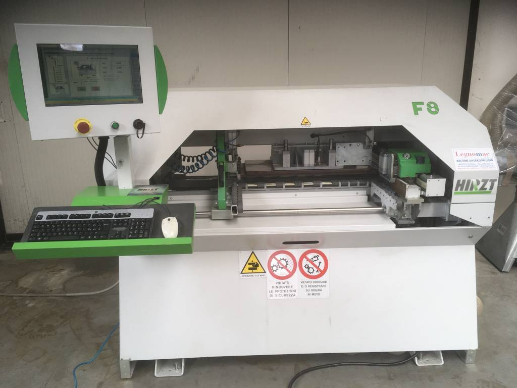 Foratrice elettronica Hirzt F8 usata