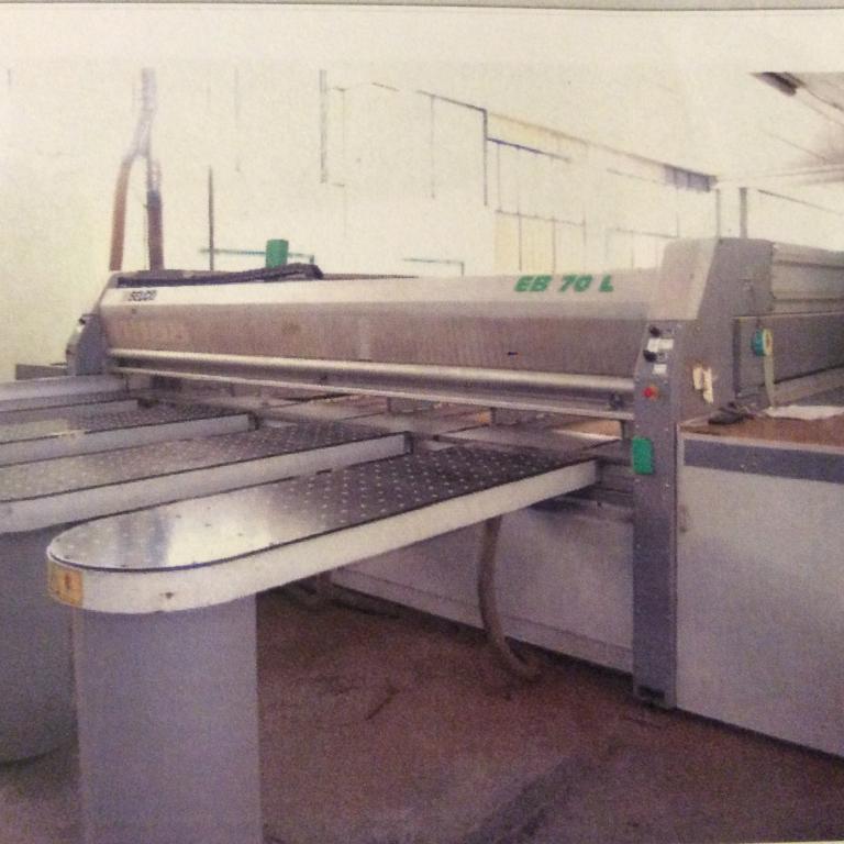 Sezionatrice con pinze Selco modello EB 70/ L