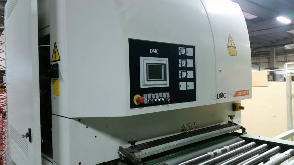 Linea di Calibratura /Levigatura marca DMC modello Unisand K